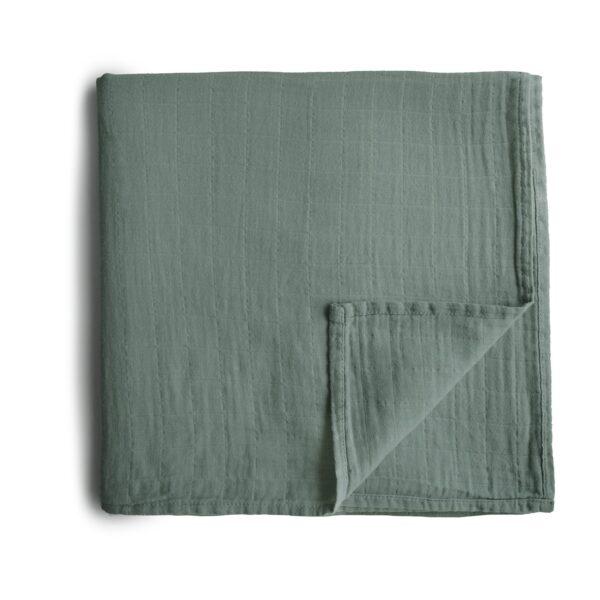 Mushie swaddle – Roman Green